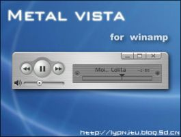 Metal Vista for winamp by lypnjtu
