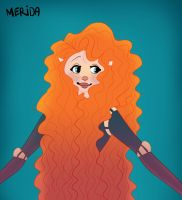 Disney Brave | Merida by leafaye