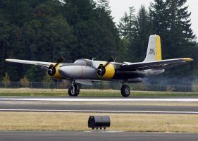 A-26 Takeoff by shelbs2