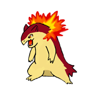shiny typhlosion by cargirl64