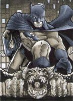 Batman Sketch Card PSC by RichardCox
