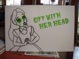 Off With Her Head by artbyabbey