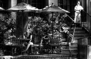 Lunch in San Antonio by PortraitOfaLife