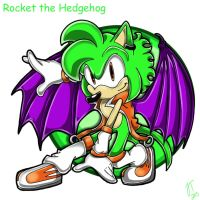 .:REQUEST:. Rocket the Hedgehog by SonicFF