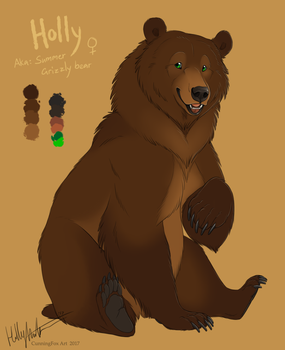 Holly bear reference by CunningFox