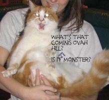 Lolcat Monster by kalely