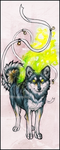 .: GhostFire Shibe :. by WhiteSpiritWolf