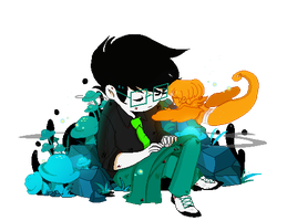 doomed!john and davesprite by xsweet-rainex
