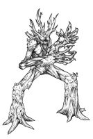 Castlevania: Treant by 7th-Seal