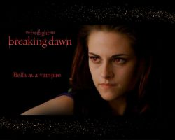 KRISTEN STEWART - Bella Cullen as a vampire in BD2 by Maysa2010