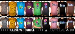 Tshirts.cows brains logo dolls by cpowza