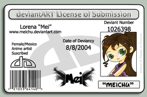DeviantLICENCE by Meichu