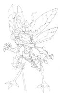 Common Insect Warrior by mikebowden