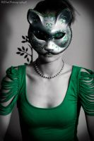 The Green Kitty 1 by Broken-Starr-Child