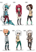 [Using Base] Adoptables set -OPEN- by Voodoo-Elf
