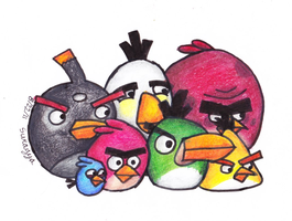 Angry Birds Group by SageEarth