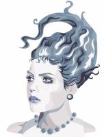"Experiment 2 ""Ice Lady"" by bikle"