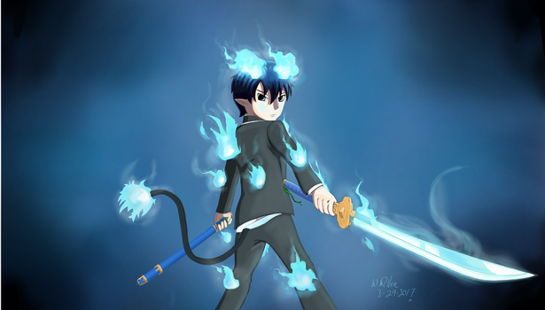 By Request Rin Okumura by Goodguy67