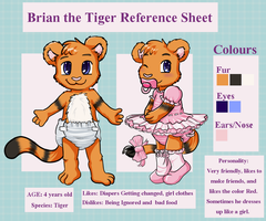 Brian the Tiger ref by wiimaster306