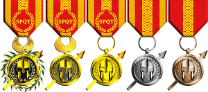 Order of Mars Medals by 1Wyrmshadow1