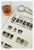 Deus Ex HR stamp collection by shatinn