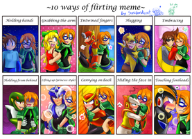 10 ways to flirt with Jazz =w= by Sonicbandicoot