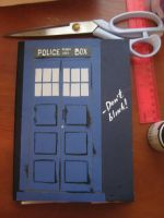 Doctor Who - TARDIS notebook by KlodwigLichtherz
