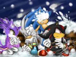 Dream Snowball Fightwww by Blailver