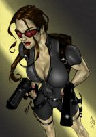Lara Croft 33 by Qsec