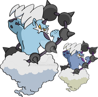 642 - Thundurus (Incarnate Forme) - Art v.2 by Tails19950