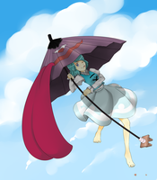 In Air She Wanders by Neet-Hime