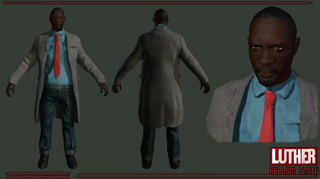 Luther model by SpartanIdeal