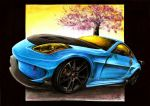 Nissan 350Z - Blossom of Hope by Medvezh