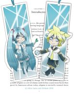 Vocaloid Bookmarks AN 2010 by Ithilean