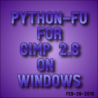 Installing Python for GIMP 2.6 by GIMPtricks