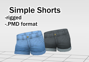 Simple Shorts DOWNLOAD by Kohaku-Ume