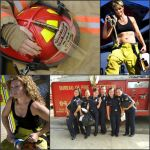 Female Firefighters -- Collage #11 by MosbyRedux