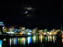 Wellington City by Night by MaxK-W