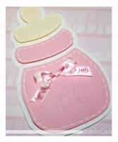 Baby Girl Cards - shot 1 by MumziesCards