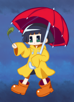 Kohina Raincoat by colorgeist