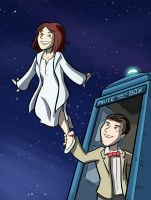 Dr. Who Commission by samandfuzzy