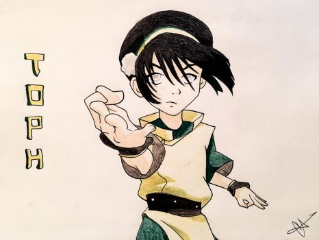 Toph by Lanalula