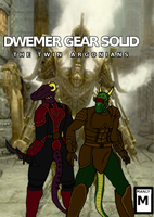 DWEMER GEAR SOLID: The Twin Argonians by HelloMyNameIsEd