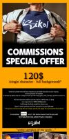 COMMISSIONS INFO by isikol