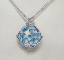 Aquamarine Necklace by 4rt2yCre8or