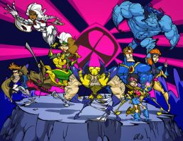 The X-Men by BrendanCorris