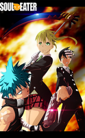 Soul Eater 107: Monsterous Trio by Sensational-X