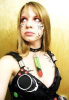 Cyborg: Circuit Make-up by greenfortune