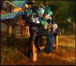 Ice Cream Sunset in Goldshire by CopperPumpkin