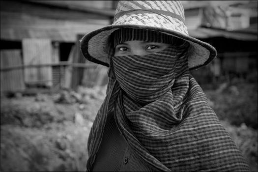 Khmer construction worker by watto58